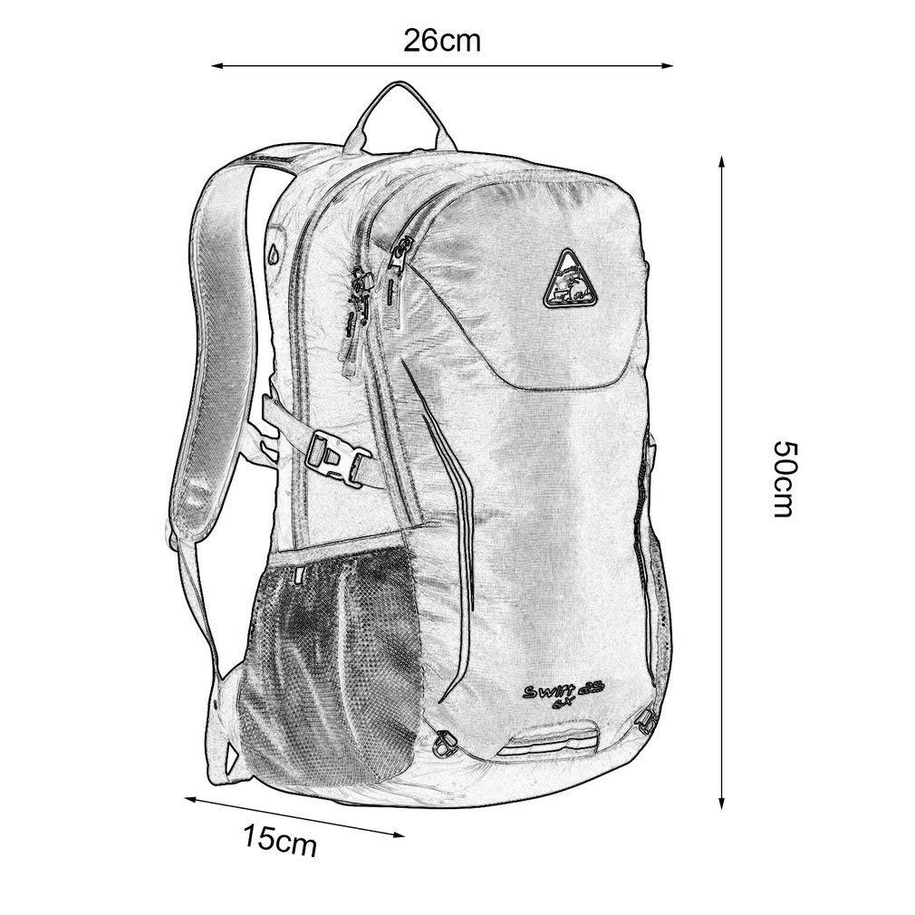 YTYC KIMLEE Sport Bag Waterproof Mountaineering Travel Backpack Man Woman by YTYC (Image #6)