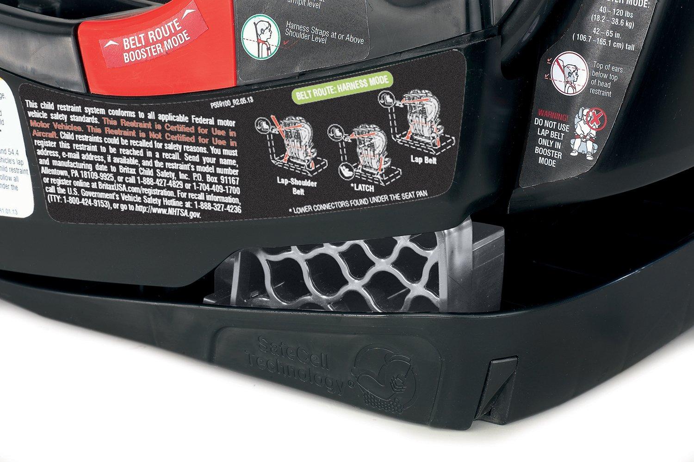 Amazon.com: Britax Pioneer 70 Harness-2-Booster Car Seat, Onyx ...
