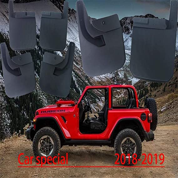 ZHLZH 4 Pezzi Set Parafanghi Paraspruzzi Auto per Land Rover Defender 2020 2021 Anteriore e della Protezione del Corpo Parafango Posteriore