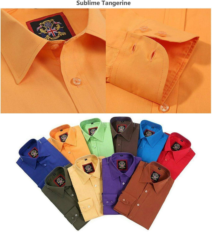 Camisas de vestir para hombre para oficina, negocios, traje de ...