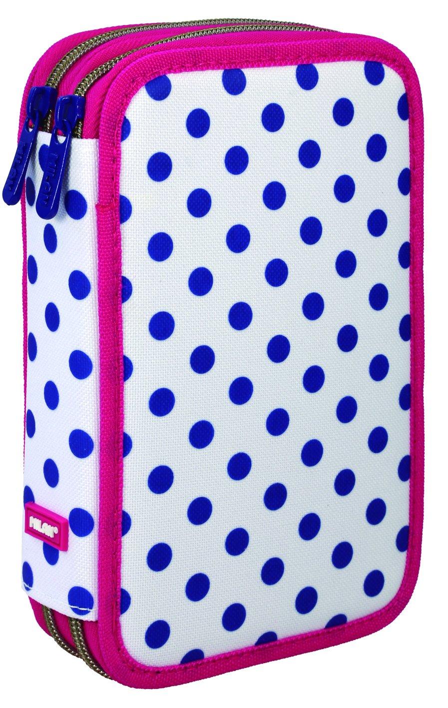 Amazon.com: Milan Dots 3 081264dt3 Cases, 20 cm, Blue/White ...