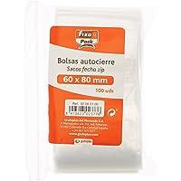 Fixo Pack 50063100-Pack de 100 bolsas autocierre, 60