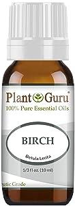 Birch Essential Oil 10 ml 100% Pure Undiluted Therapeutic Grade.