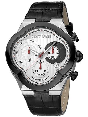 88c026539213 Roberto Cavalli by Frank Muller CLOVER - Reloj cronógrafo para hombre