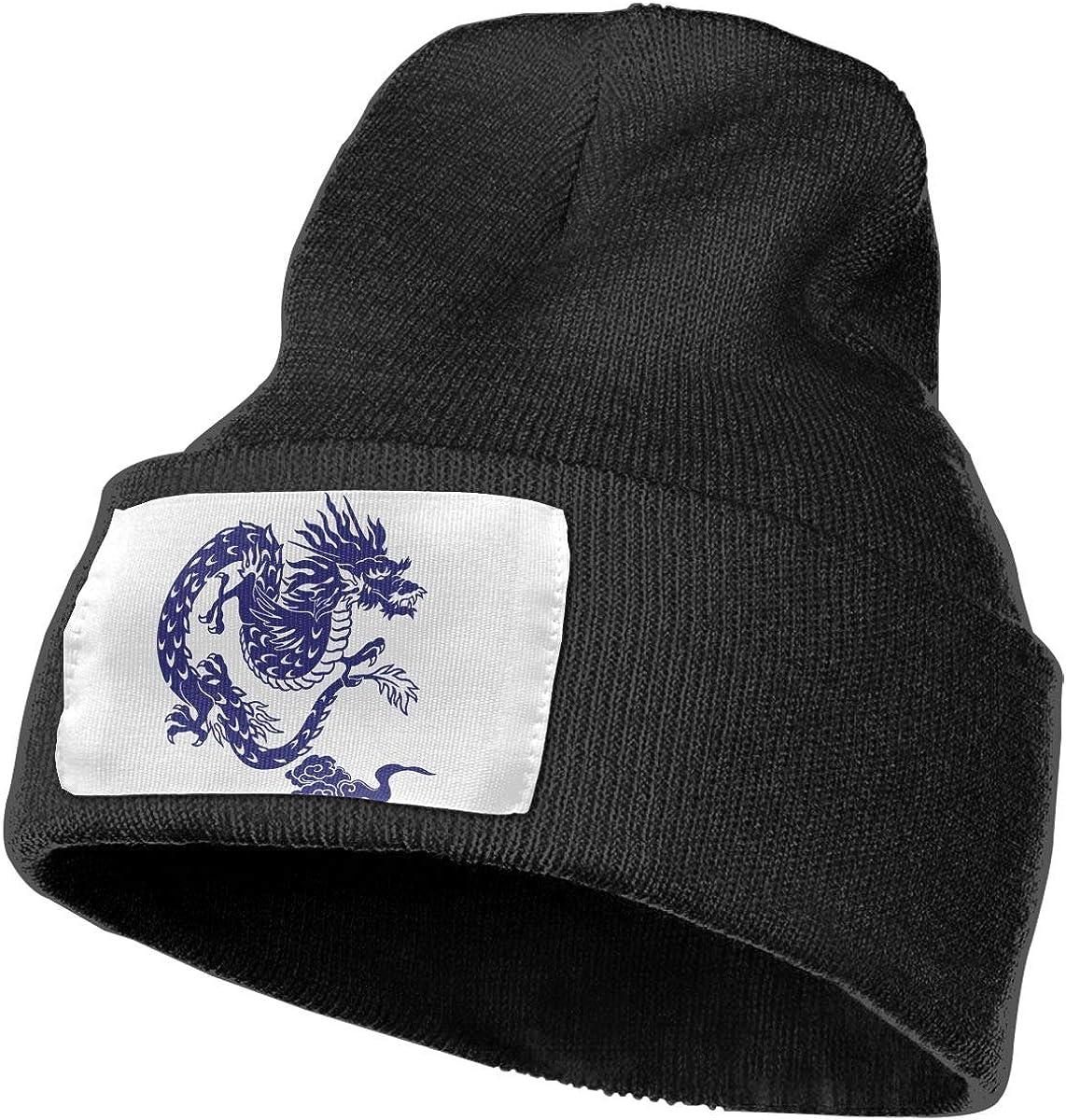 Japanese Dragon Unisex Fashion Knitted Hat Luxury Hip-Hop Cap