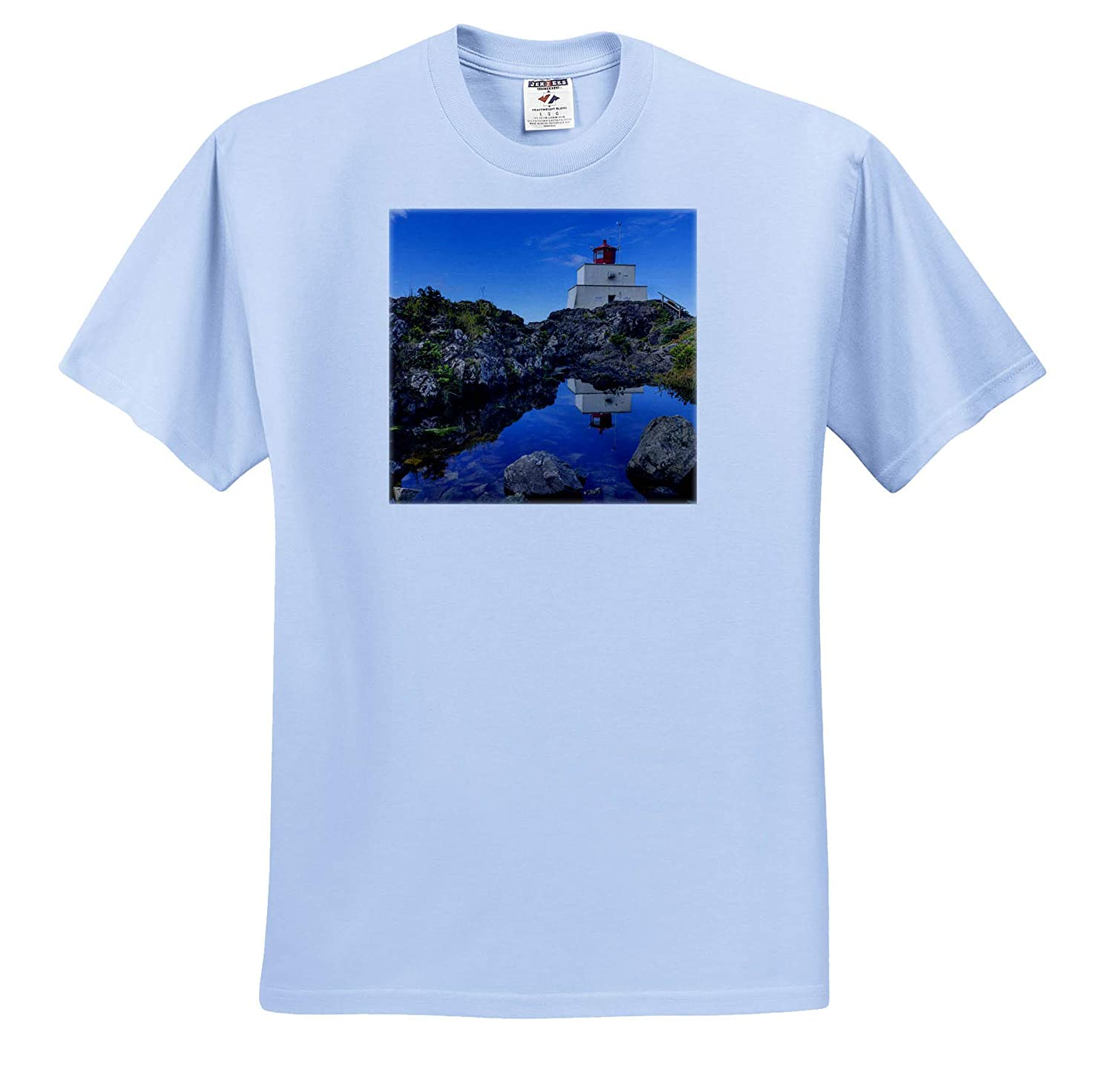 Adult T-Shirt XL Canada British Columbia Canada 3dRose Danita Delimont Amphitrite Lighthouse Near Uculet ts/_313017