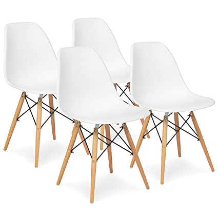 mid century modern dining table. Purzest Dining Room Chairs Set Of 4,Mid Century Modern With Natural Mid Table O