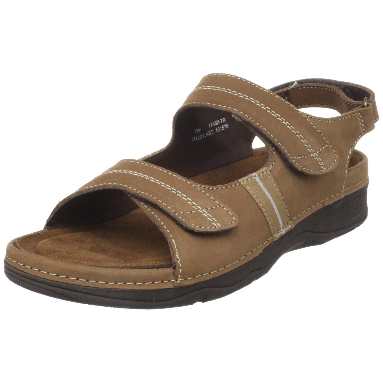 Drew Shoe Women's Dora Comfort Sandal B0045TZJYO 8.5 W US|Cork Nubuck
