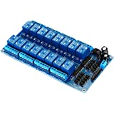 KKHMF 12 V 16チャネルリレーモジュール 光耦保護板 LM2576 電源 PIC AVR MCU DSP ARM