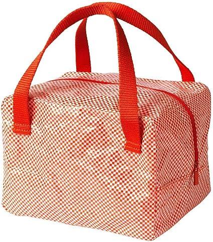 IKEA 365+ - Bolsa para almuerzo, color rojo: Amazon.es: Hogar