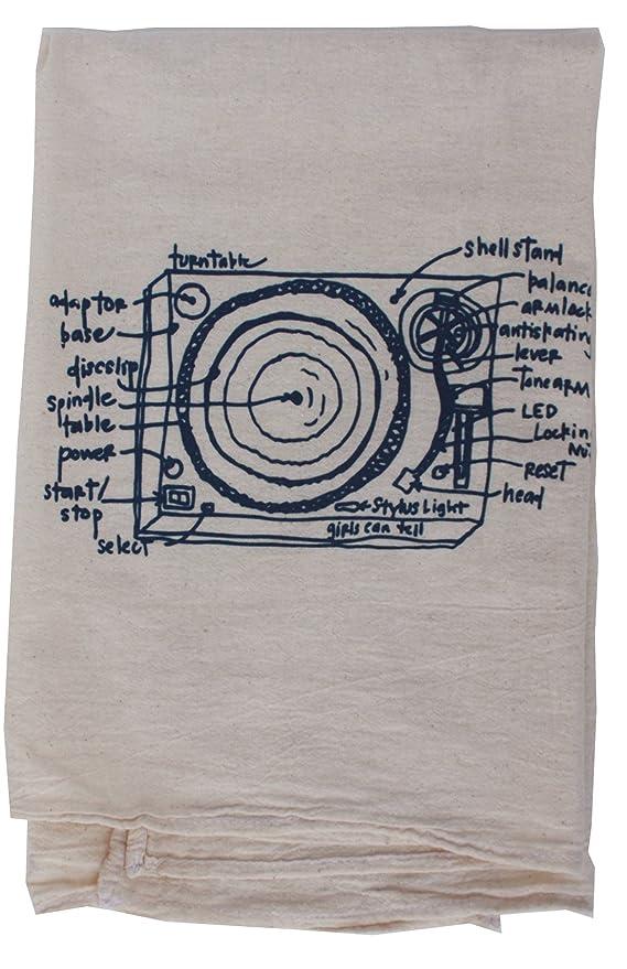 Se puede Tell Tocadiscos saco de harina toalla de símbolos TN052 ...