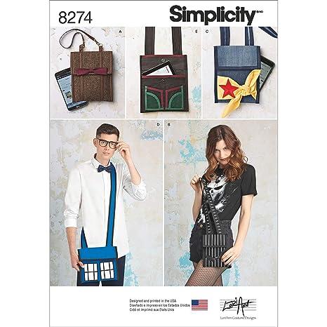 Simplicity Pattern 8274 OS Tallas de carácter Inspirado ...