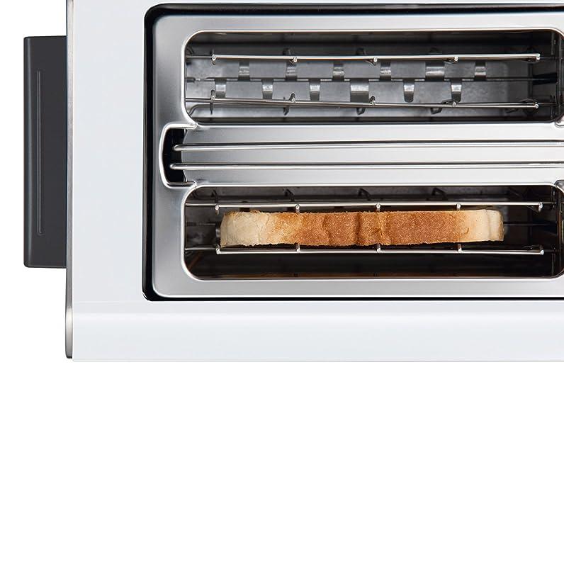 Bosch Styline / TAT8611 Grille-pain Inox et plastique Pour 2 ...