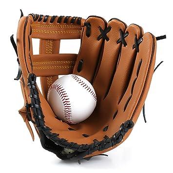 e253de16507d2 Amazon.com: Baseball Gloves Softball Gloves Thicken Infield Pitcher ...