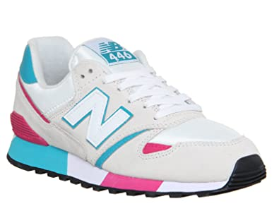 New Balance Sos Grey Pink Green Sos Off White Blue Pink - 6 UK
