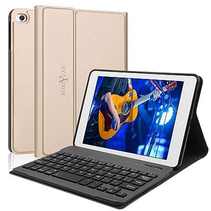 "Boriyuan Bluetooth Backlit Keyboard Case For iPad 9.7/"" 5//6th Air 3//2//1 Pro 11/"""