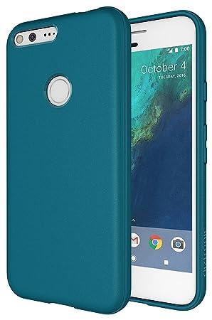 Diztronic – Carcasa de TPU para Google Pixel XL – mate aleación color gris