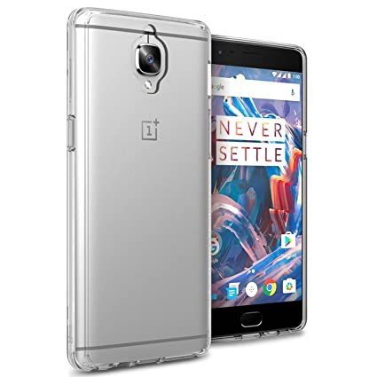 purchase cheap f2e1a 91cd8 Foso Bumper Case for OnePlus 3 and 3T (Clear)