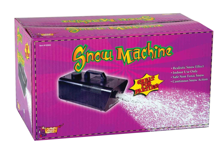 Forum Novelties 120V/470W Snow Machine, Mini, Black 62662