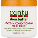 SHEA BUTTER LEAVE-IN CONDITIONING REPAIR CREAM By CANTU Conditioner