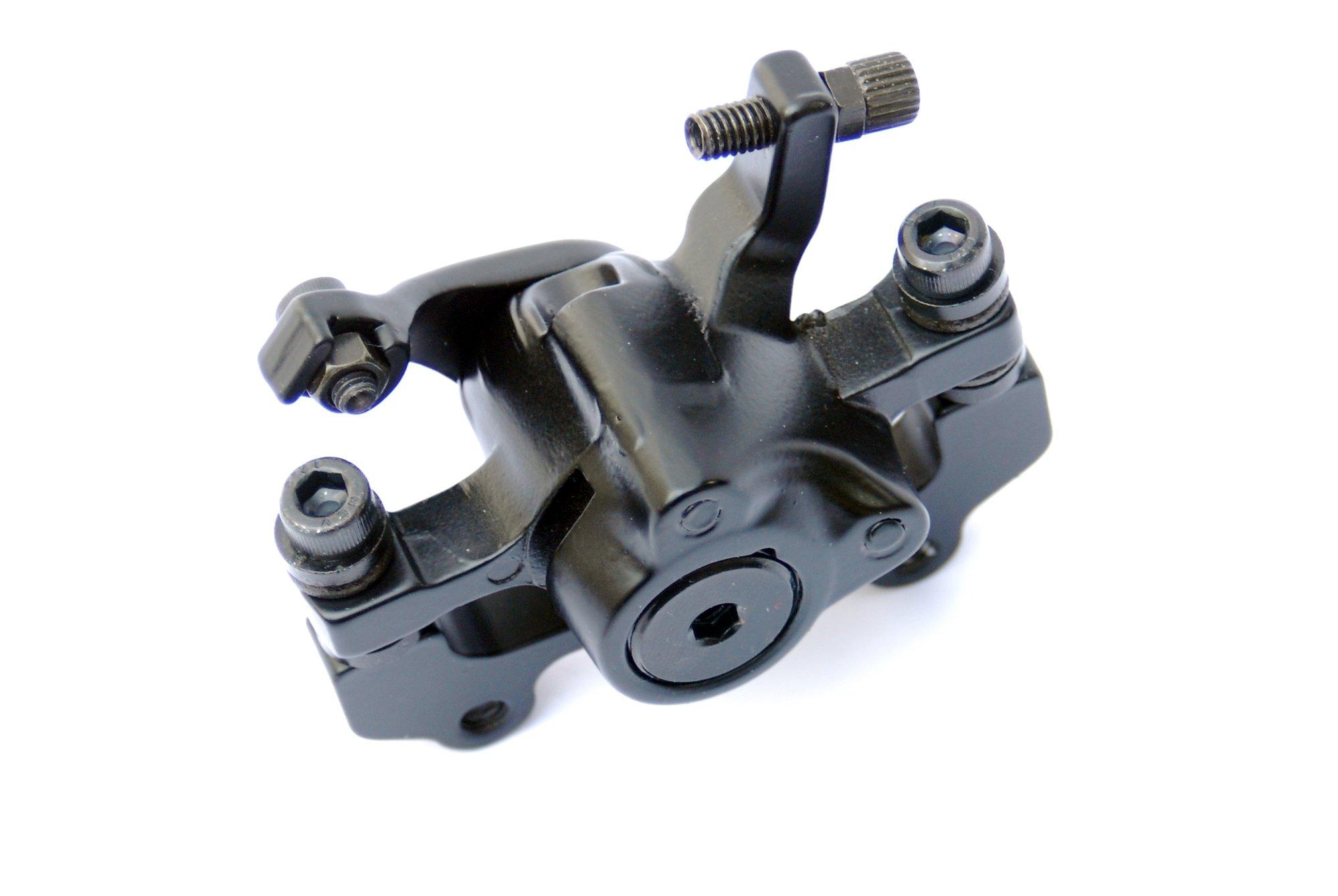 Artek Bike Rear Mechanical Cable Disc Brake Caliper /& Rotor Set 160mm inc Bolts