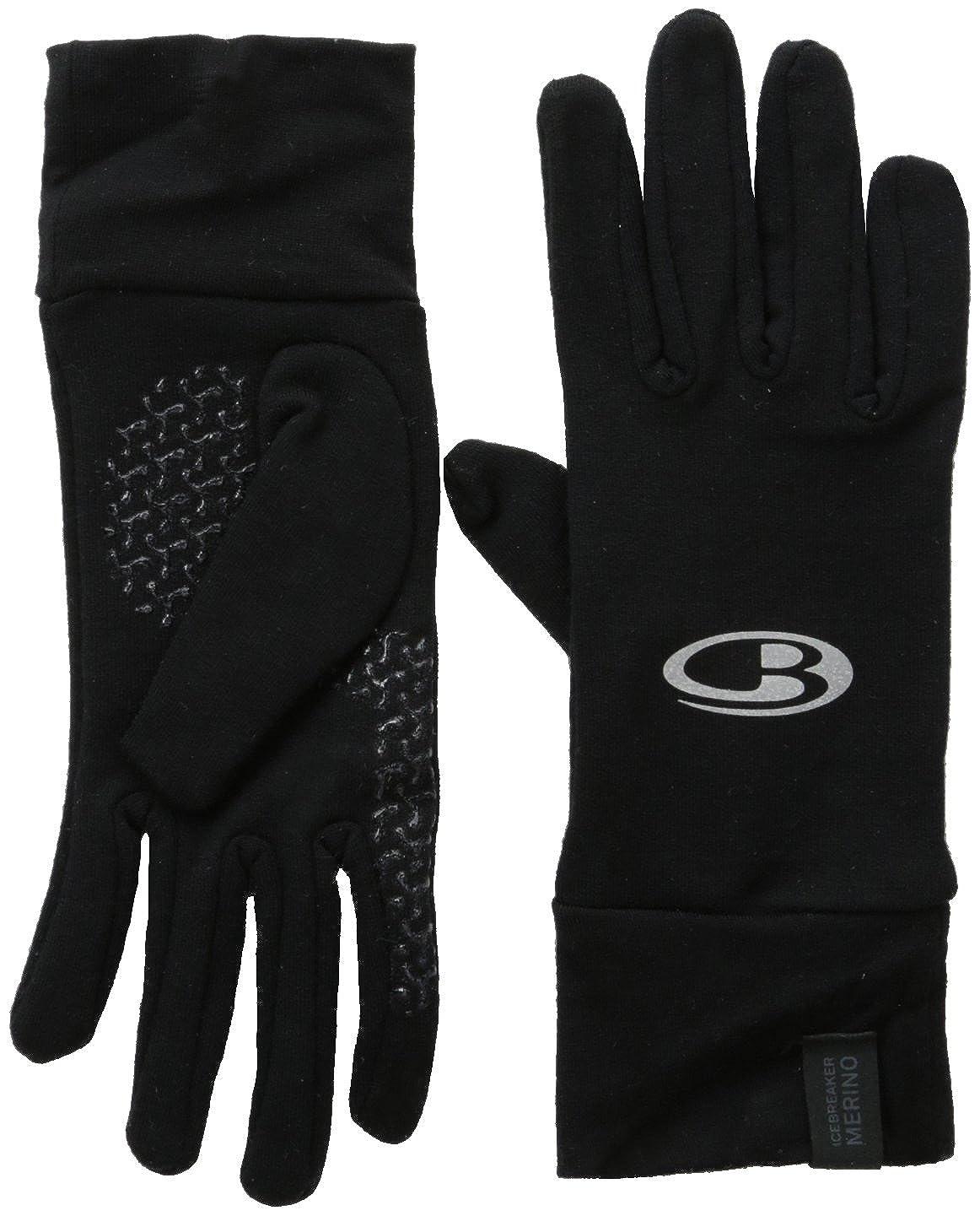 ec4a61e539 Amazon.com: Icebreaker Men's Quantum Glove, Black, X-Large: Clothing