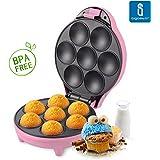 Aigostar Popcaker Pink 30CEU - Macchina per Cupcakes e Magdalene 700W Rosa.