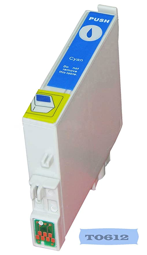 Multipack - 10 cartuchos para impresora EPSON T0611, T0612, T0613 ...