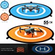 iMusk Drone and Quadcopter Landing Pad RC Aircraft Soft Landing Gear Surface Made of Waterproof Eco-Friendly Nylon for DJI Mavic Phantom 3 4 Spark Mavic Pro