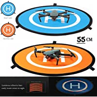 iMusk Drone and Quadcopter Landing Pad RC Aircraft Soft Landing Gear Surface Made of Waterproof Eco-Friendly Nylon for DJI Mavic Phantom 3 4 Spark Mavic Pro