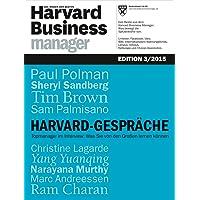 Harvard Business Manager Edition 3/2015: Harvard-Gespräche