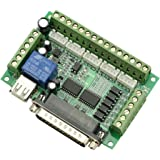 SainSmart CNC 5 Achsen Schrittmotor Steuerung, CNC Stepper Motor Driver 5 Axis Interface Board adapter, Blau