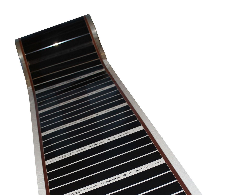 pantalla longitud a elegir de calefacci/ón de suelo radiante El/éctrica de suelo radiante 90/W//M/² Juego completo de suelo pantalla de calefacci/ón por infrarrojos