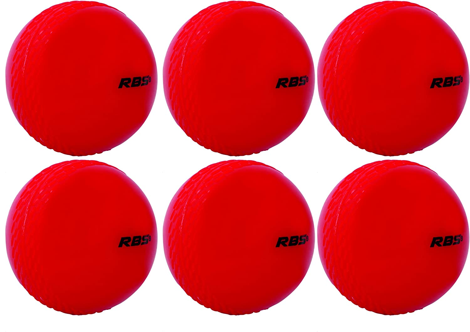 RBS Wind Cricket Ball for Tennis Garden Play Pack of 6