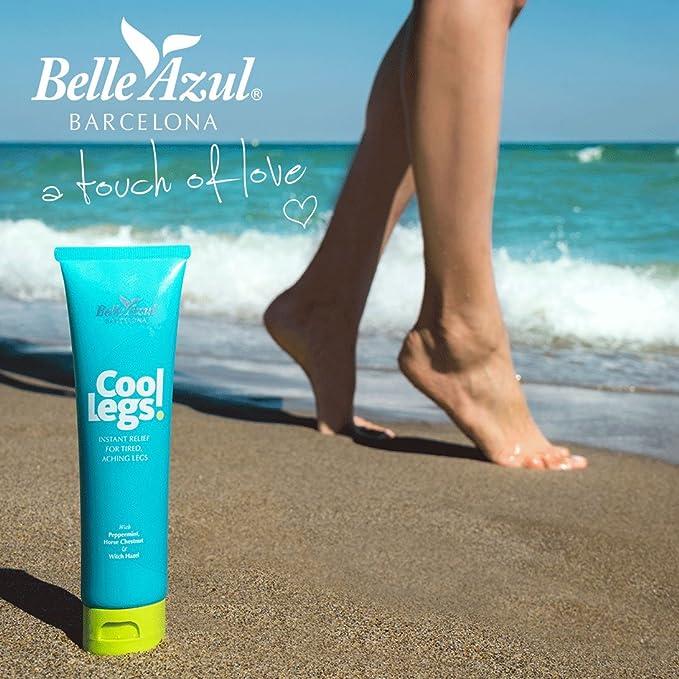 Belle Azul - Cool Legs - Gel de Alivio Instantáneo para Piernas ...