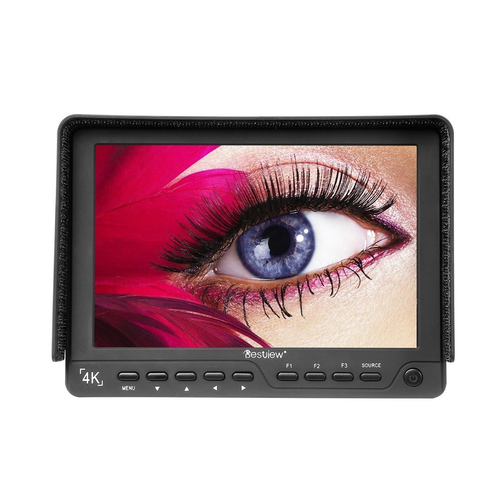 BESTVIEW S7 4K camera HDMI HD monitor video TFT field 7'' inch DSLR lcd monitor 19201200