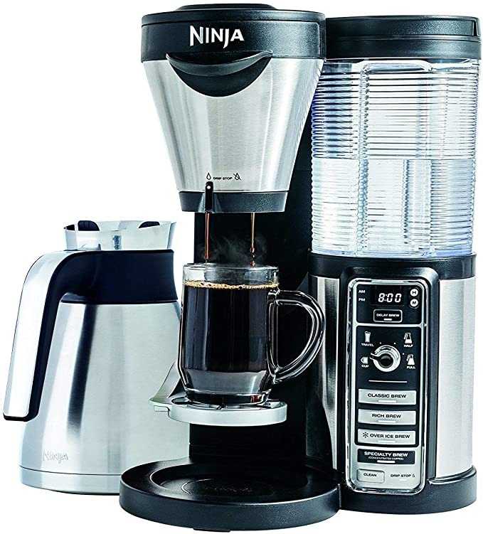 Amazon.com: Ninja Coffee Bar con jarra térmica y Auto-iQ One ...