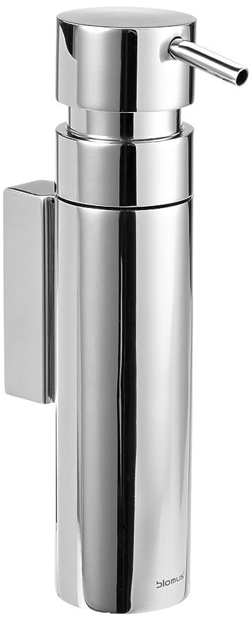 Blomus 68683 - Dispensador de jabón para pared, brillo
