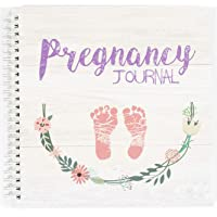 My 9 Month Journey Pregnancy Journal and Baby Memory Book with Stickers - Baby Scrapbook and Photo Album - Perfect…