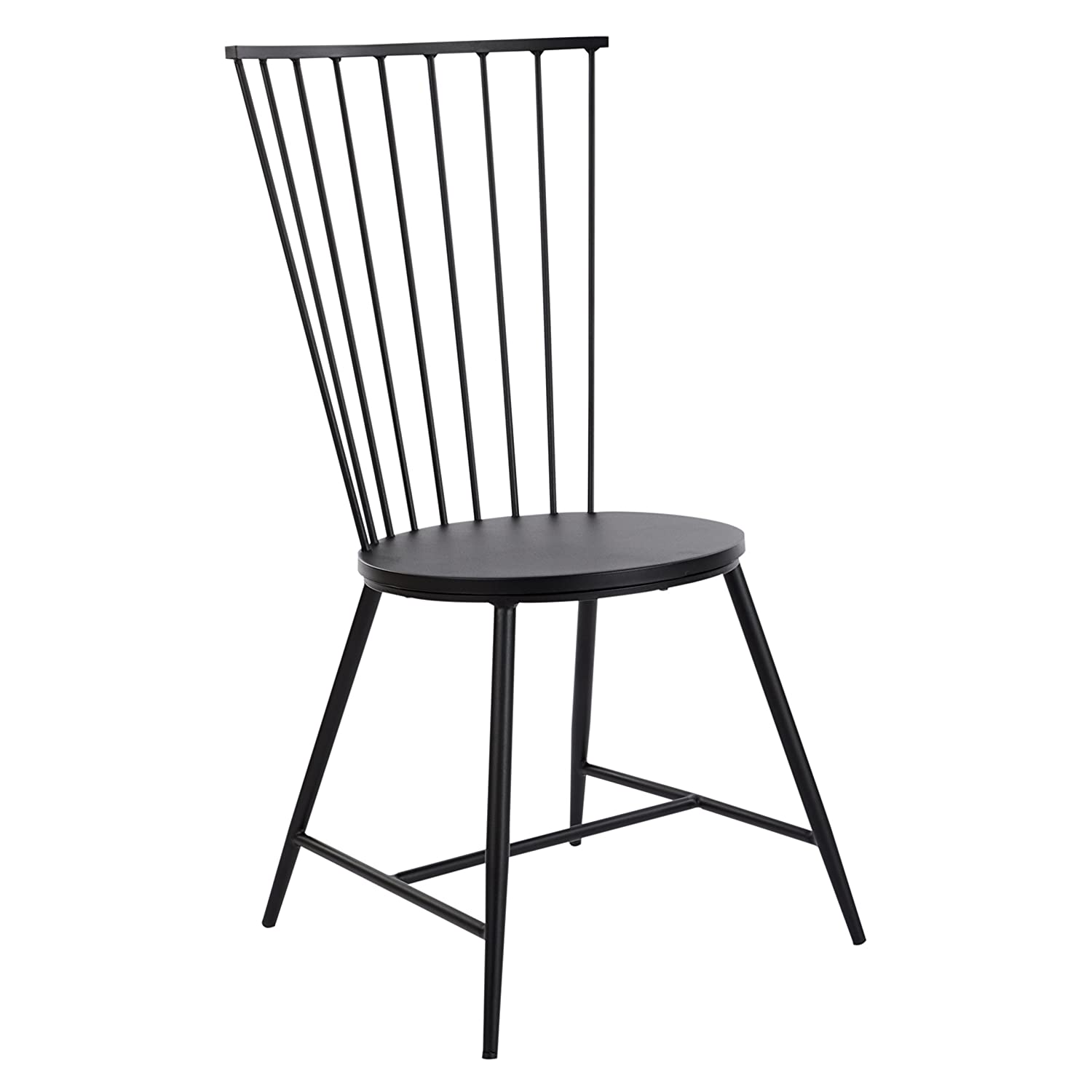 OSP Designs Bryce 26 Dining Chair, Black