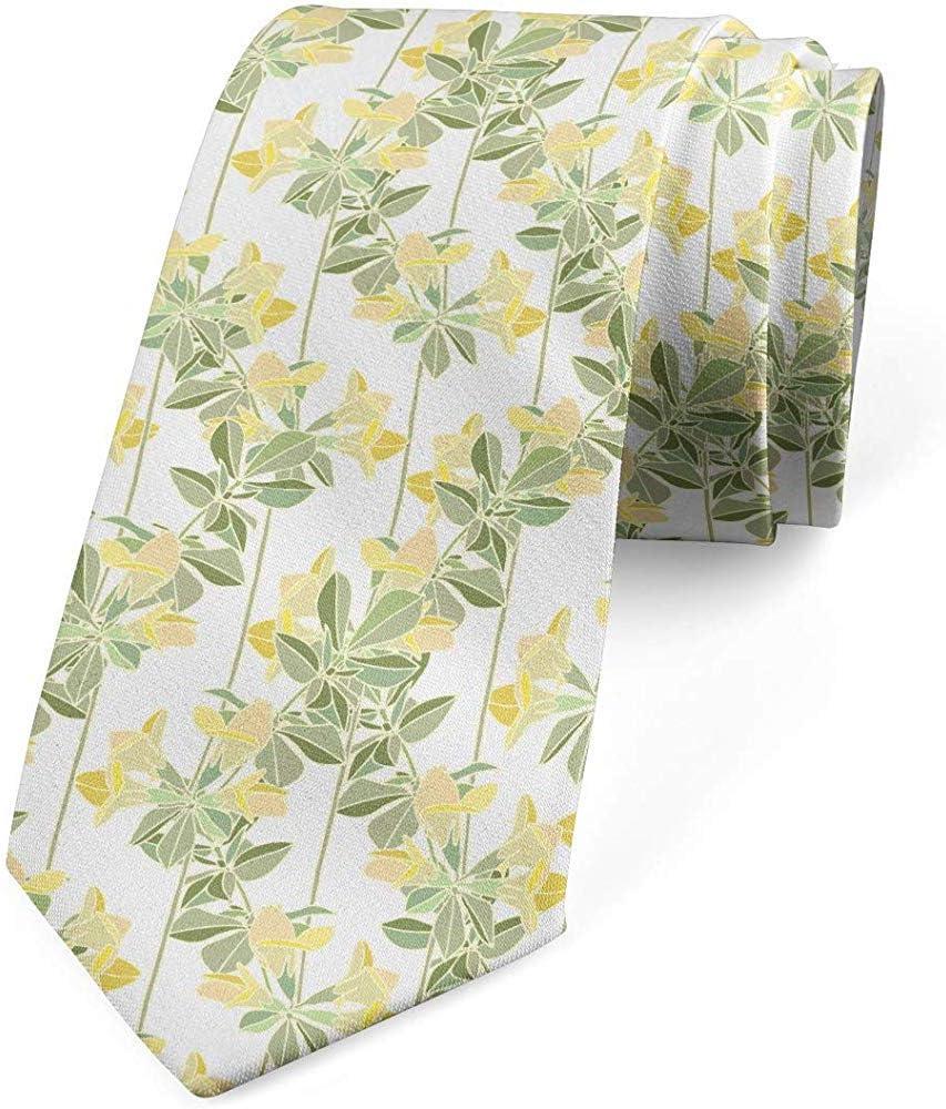 Corbata para hombre, floreciente jardín botánico, 8 cm, cáscara de ...