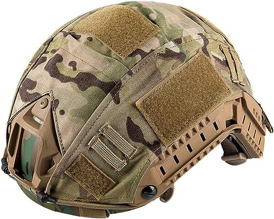 OneTigris Funda de casco de camuflaje para casco FAST MH/PJ en tallas M/L y L/XL