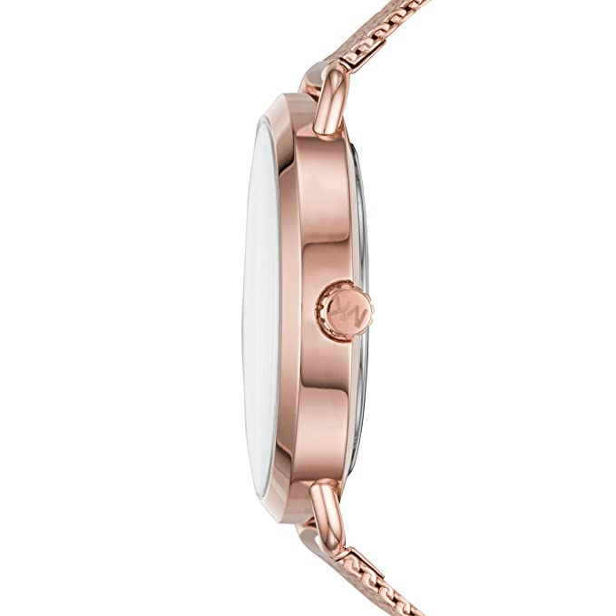 963233b35e56 Amazon.com  Michael Kors Women s Portia Analog-Quartz Watch with  Stainless-Steel Strap