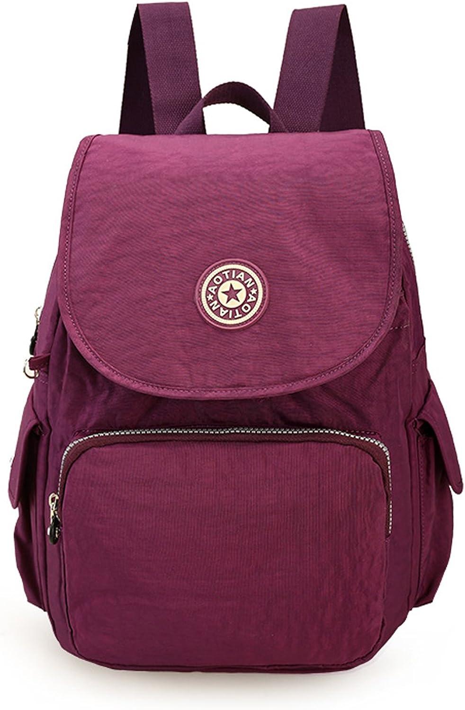 Outreo Sac a dos Femme Backpack Leger Loisir Sac de Cours