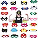 USA WOLF Superheroes Party Masks Boys & Girls
