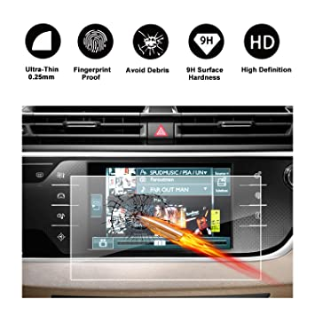 Tempered glass Screen protector for navigation system