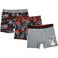 STAR WARS Boys BABP9240 3-Pack Athletic Boxer Brief Underwear Underwear - Multi