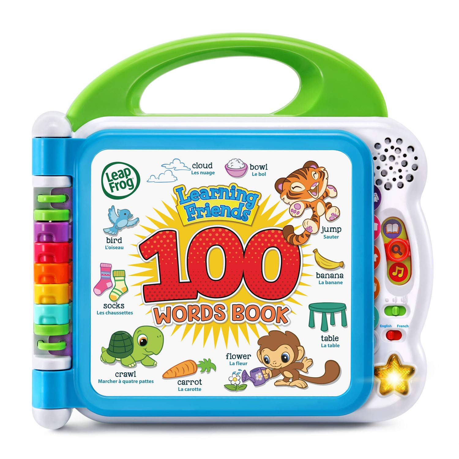 LeapFrog Learning Friends 100 Words Book, Green by LeapFrog (Image #1)
