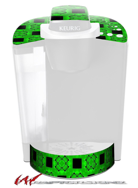 【2018年製 新品】 クリスクロスグリーン – デカールスタイルビニールスキンFits Included Keurig k40 Keurig Eliteコーヒーメーカー( – Keurig Not Included ) B017AK5X68, シメマチ:6ed7fa9b --- cliente.opweb0005.servidorwebfacil.com
