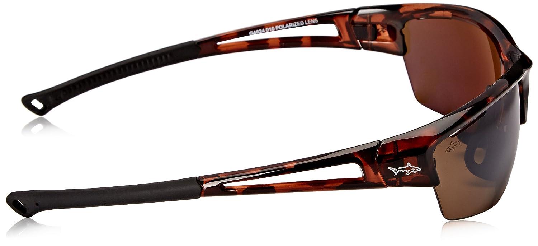 Greg Norman G4624 Polarized Wrap Sunglasses